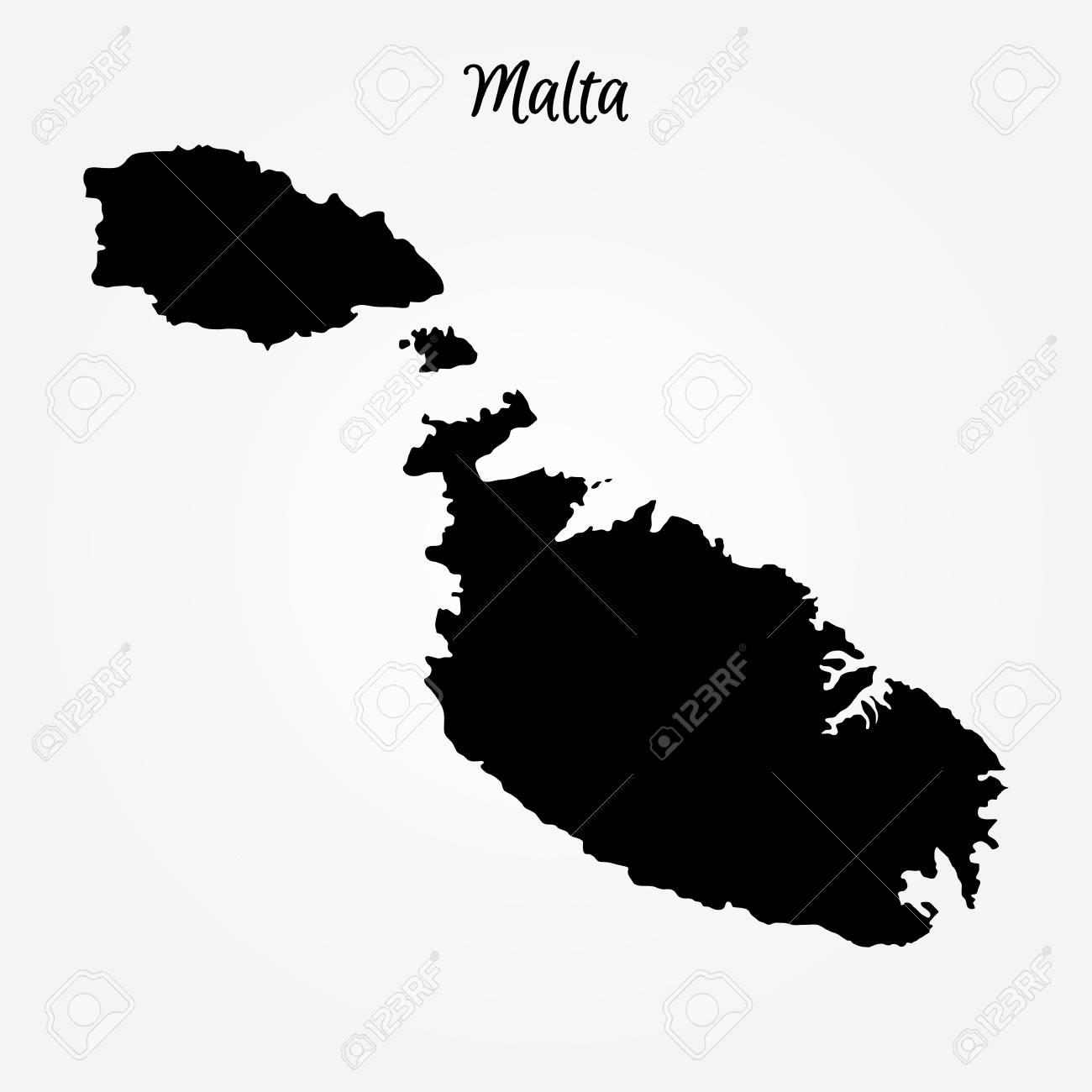 World Map Malta.Map Of Malta Vector Illustration World Map Royalty Free Cliparts