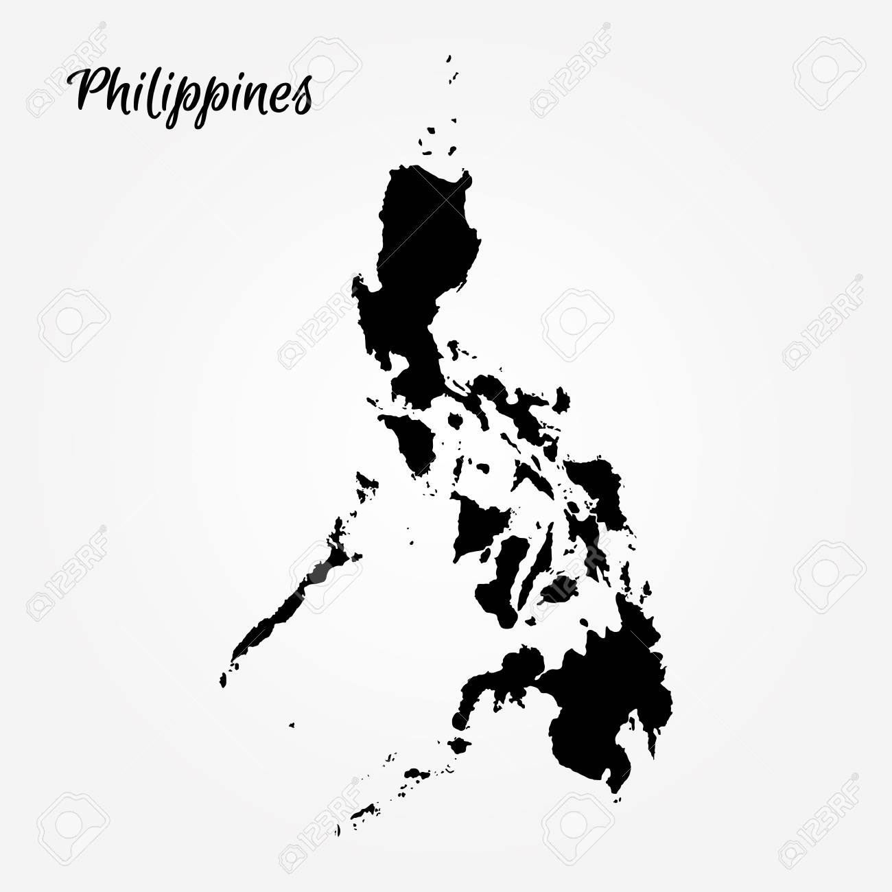 Picture of: Map Of Philippines Vector Illustration World Map Royalty Free Cliparts Vectors And Stock Illustration Image 95070533