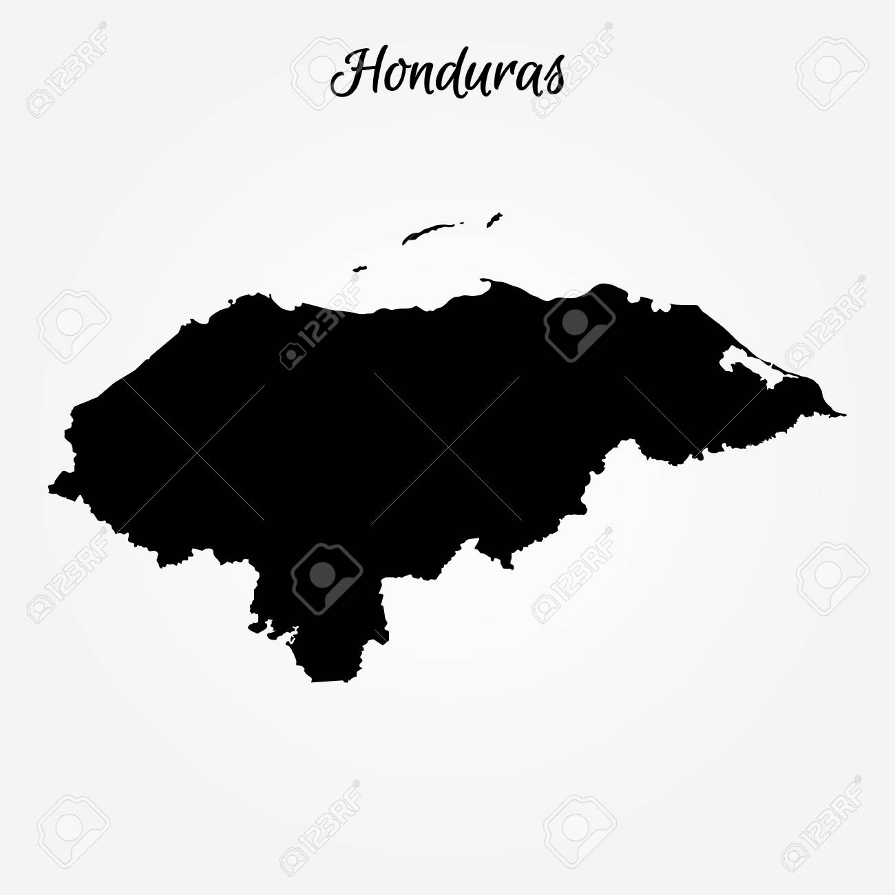 Map of honduras vector illustration world map royalty free map of honduras vector illustration world map stock vector 95301099 gumiabroncs