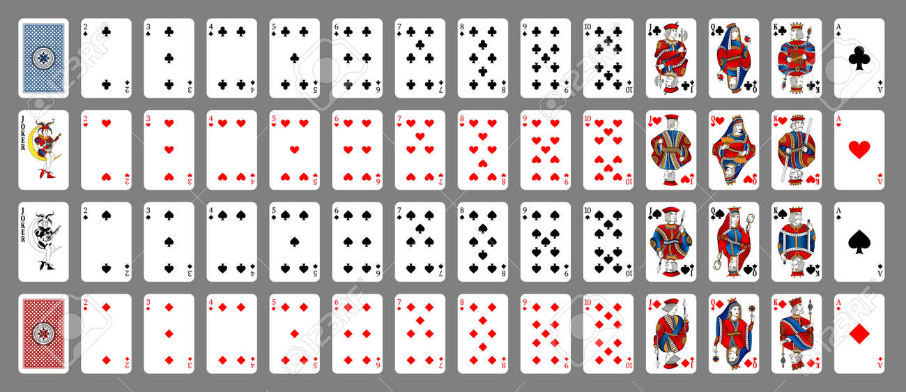 Poker playing card queen spades. New design of playing cards. - 162195616