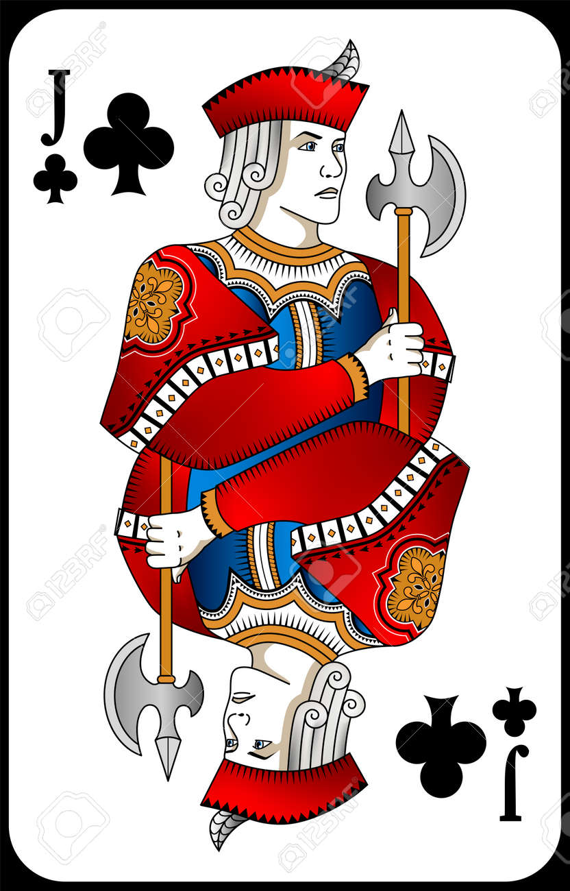 Poker playing card queen spades. New design of playing cards. - 162195617