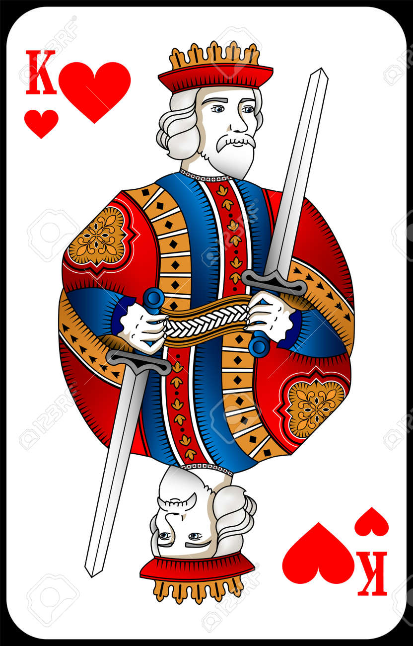 Poker playing card queen spades. New design of playing cards. - 162195424