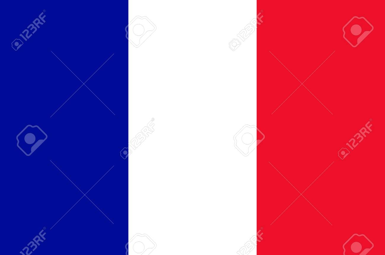Flag of the French Republic. - 113601714