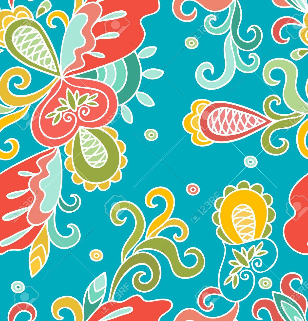Seamless abstract hand-drawn pattern,colorful background  Seamless pattern can be used for wallpaper, pattern fills, web page background,surface textures Stock Vector - 16957469