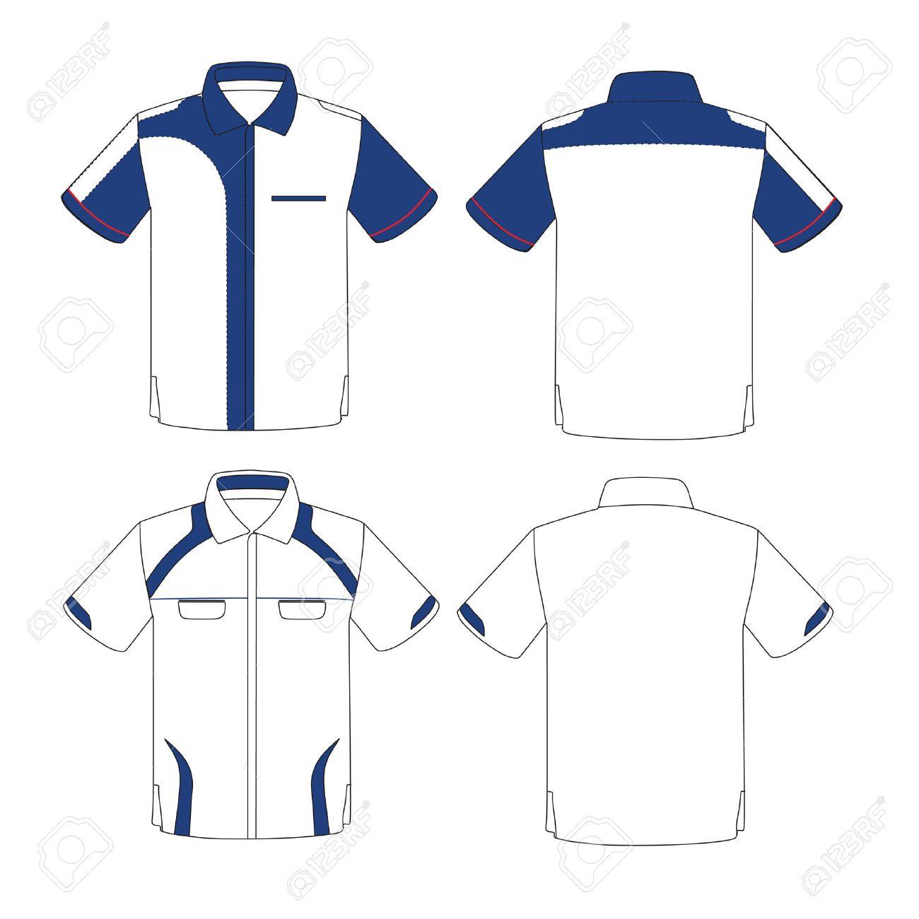 Shirt uniform design vector - Uniform Design Template Vector Stock Vector 44742747