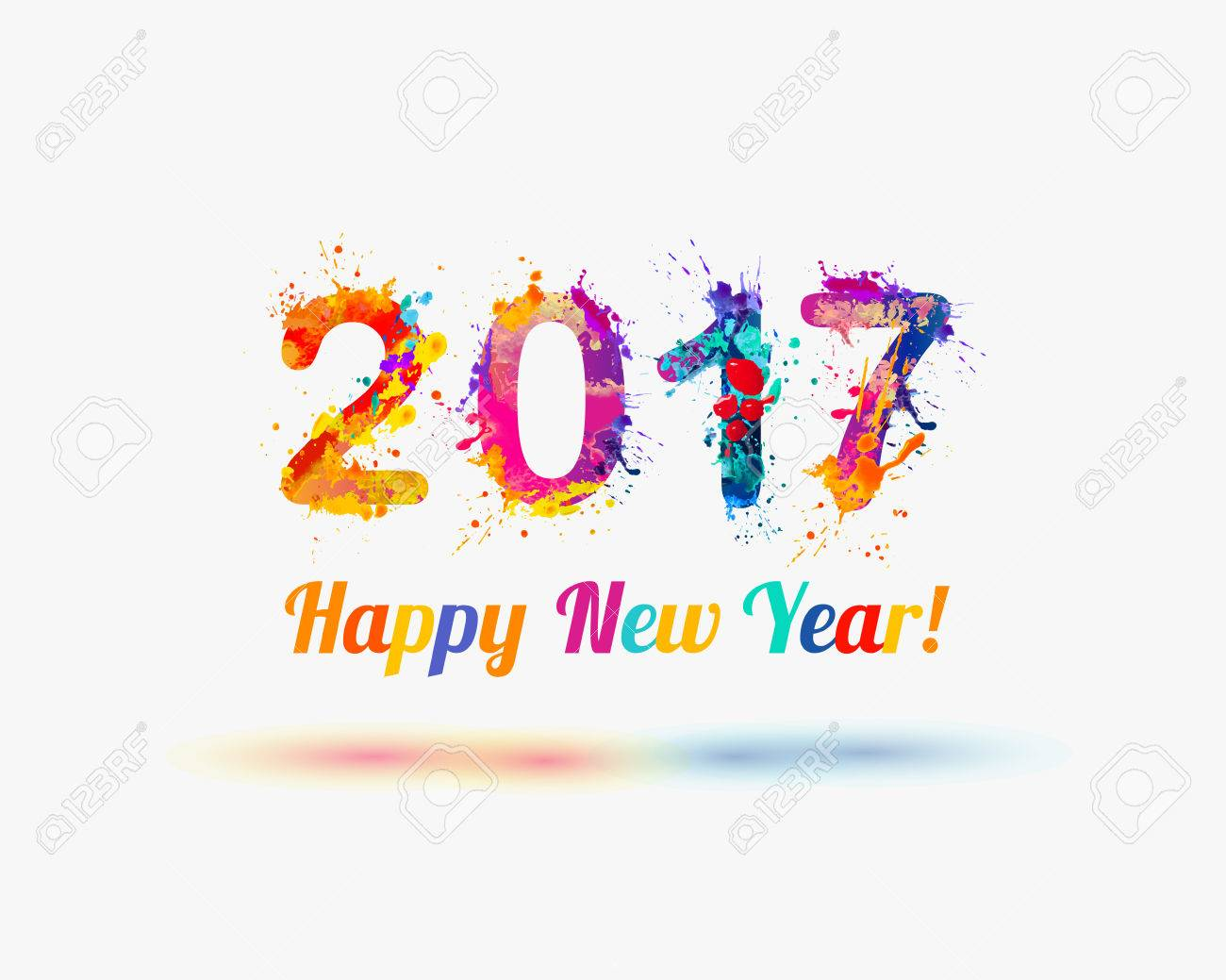 Congratulations on the New Year 2017 for children 39