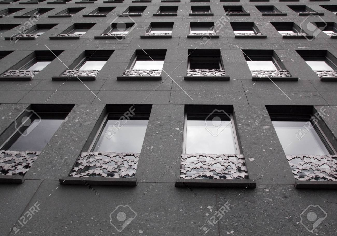 windows in a building Stock Photo - 14379437