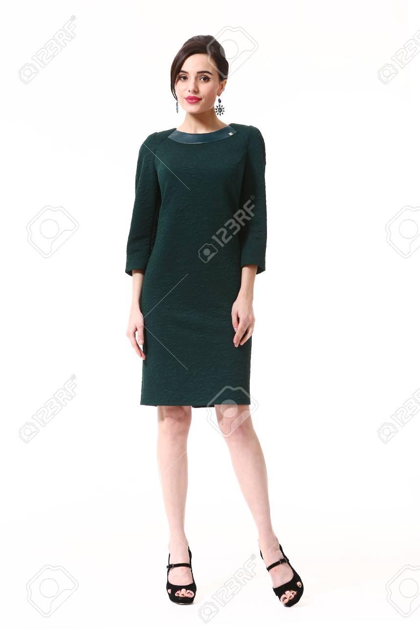 Vestido formal encaje