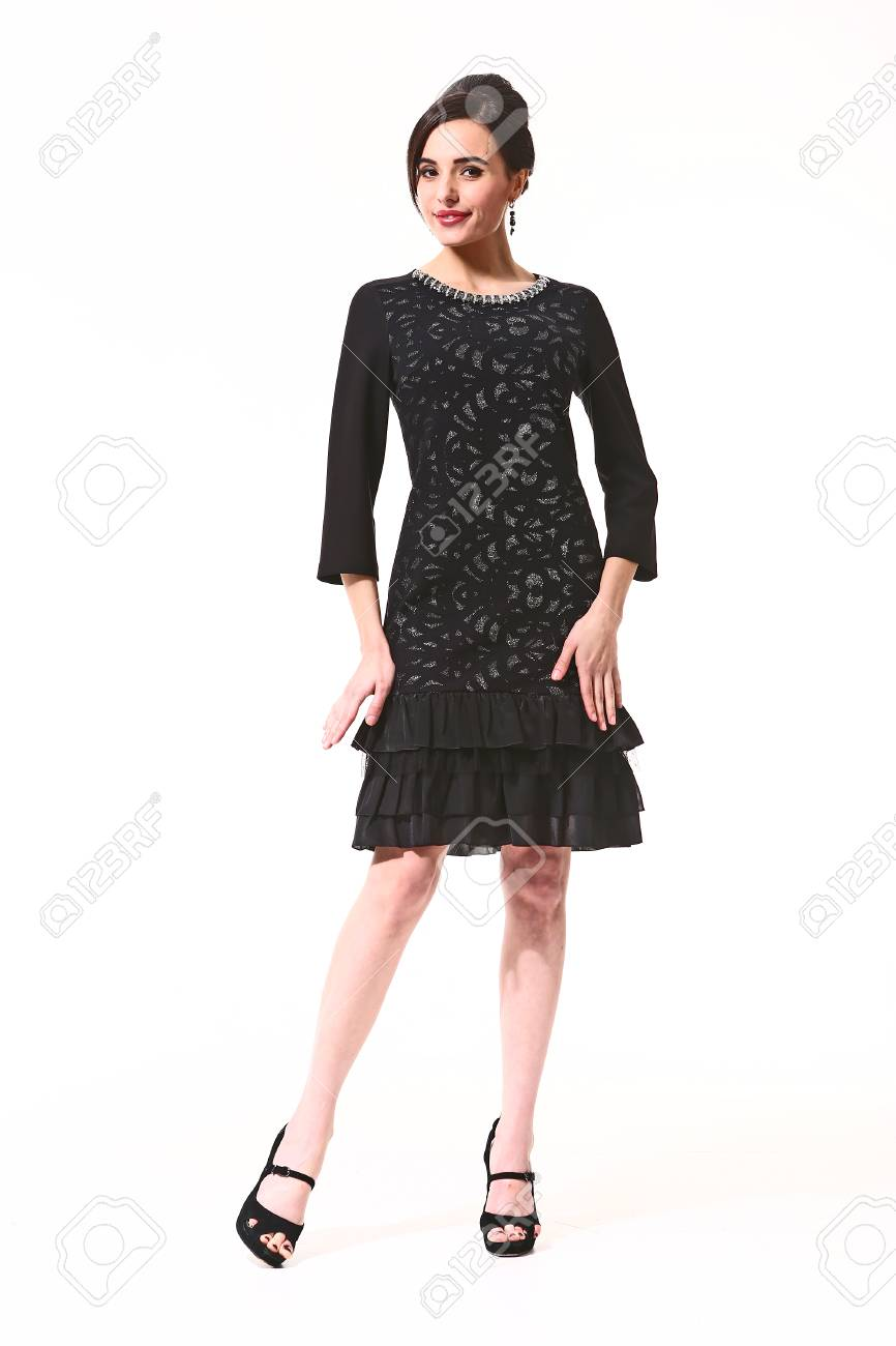 Black Formal Party Cocktail