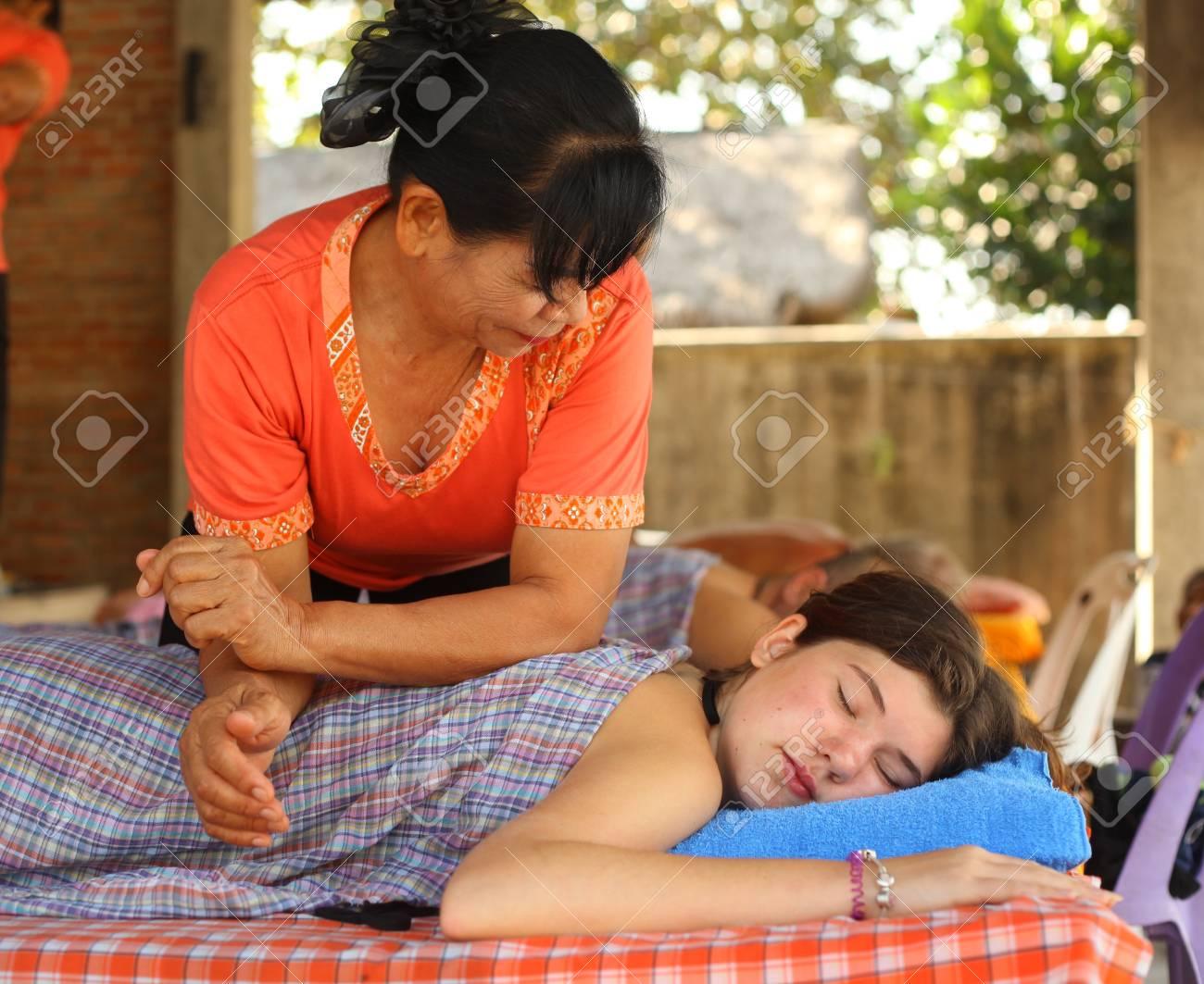 Thai massage teens