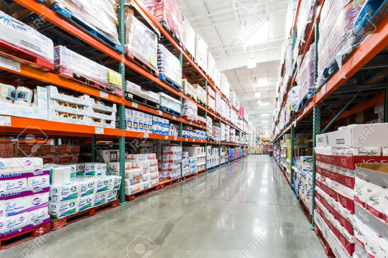 Aisle in a costco store with napkins towels and other paper stock aisle in a costco store with napkins towels and other paper products costco wholesale altavistaventures Images