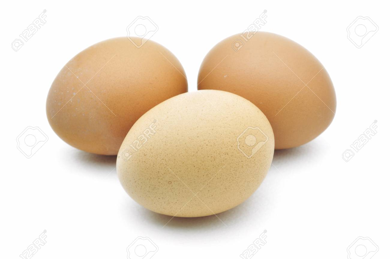 eggs are isolated on a white background Stock Photo - 15219321