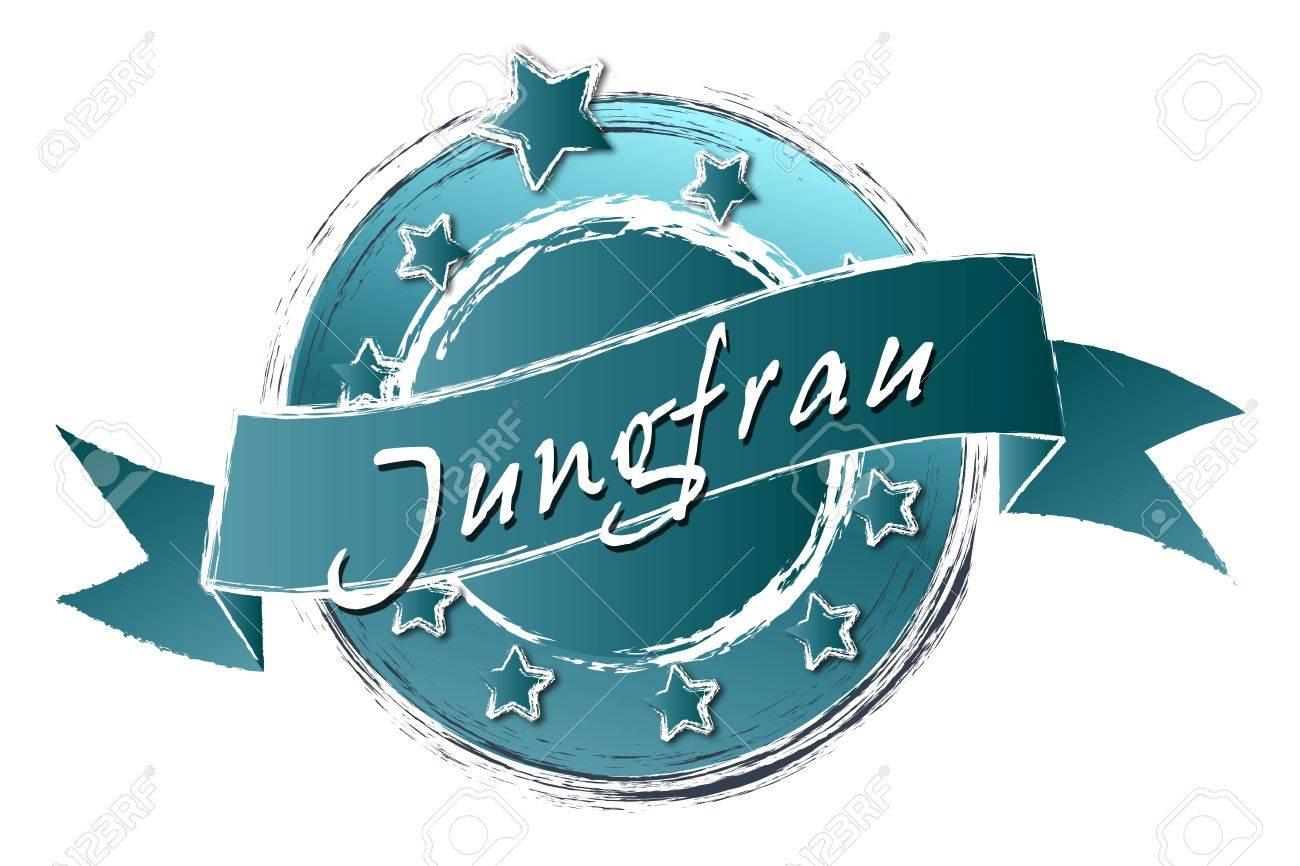 Tierkreiszeichen - Banner, Logo, Symbol im Royal Grunge Style fuer Praesentationen, Flyer, Prospekte, Internet,... Stock Photo - 14079432