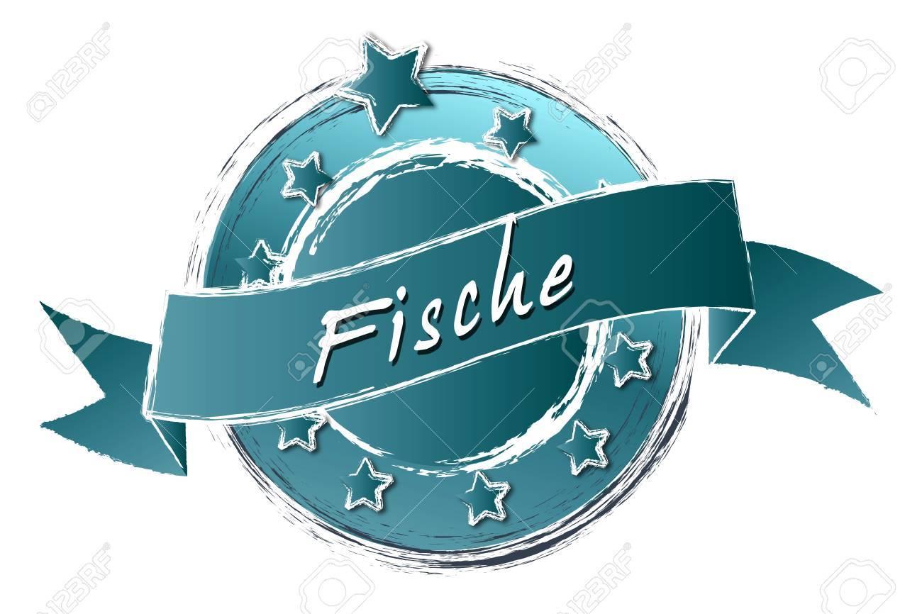 Tierkreiszeichen - Banner, Logo, Symbol im Royal Grunge Style fuer Praesentationen, Flyer, Prospekte, Internet,... Stock Photo - 14079427