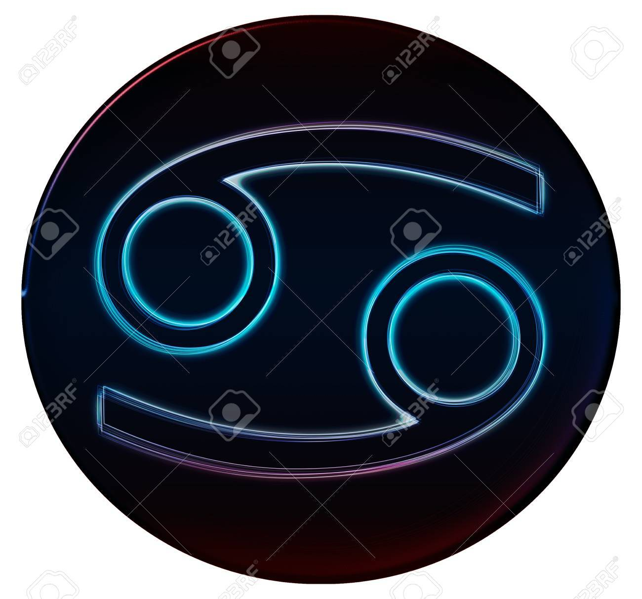 Zodiac Signs as shimmering button for presentations, Stock Photo - 14374831