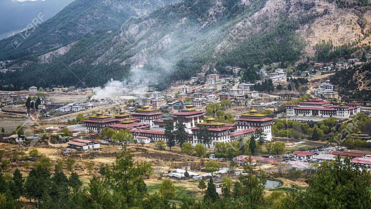 bhoutan capitale