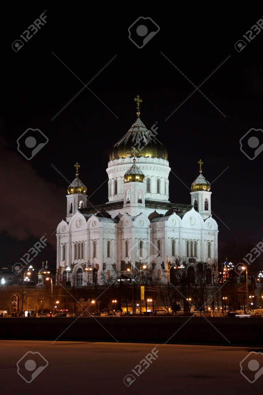 Cathedral of Christ the Saviour in Moscow. Stock Photo - 4113449
