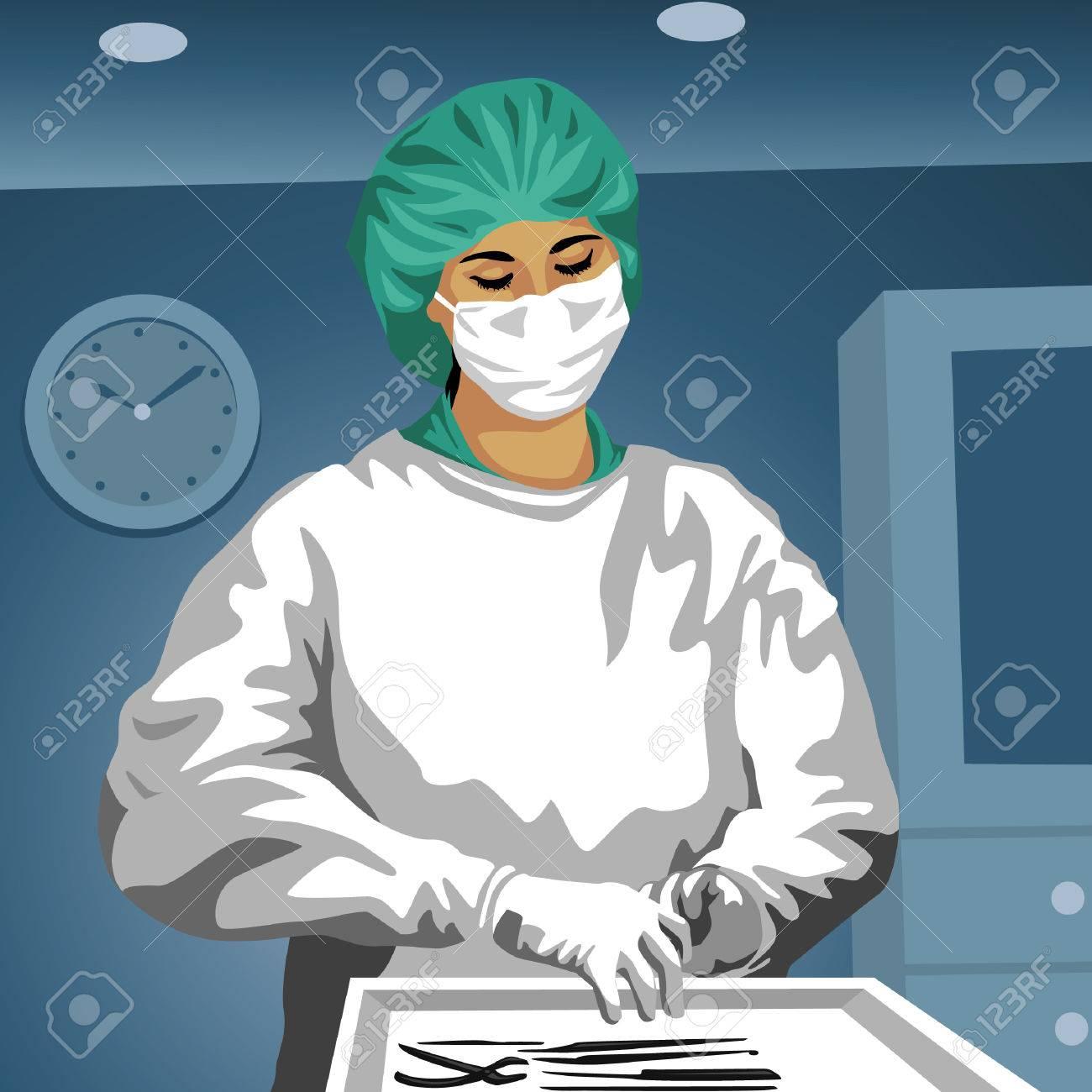 Anime Surgeon cirujano femenino  Profesion