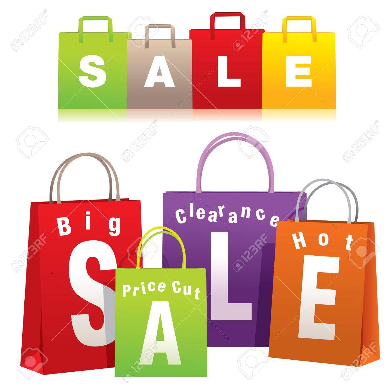 chaussures exclusives code promo boutique pour officiel Vente des sacs à provisions - Vector EPS8. Vous pouvez utiliser n'importe  quel logiciel compatible vectoriel pour ouvrir / modifier / utiliser le ...