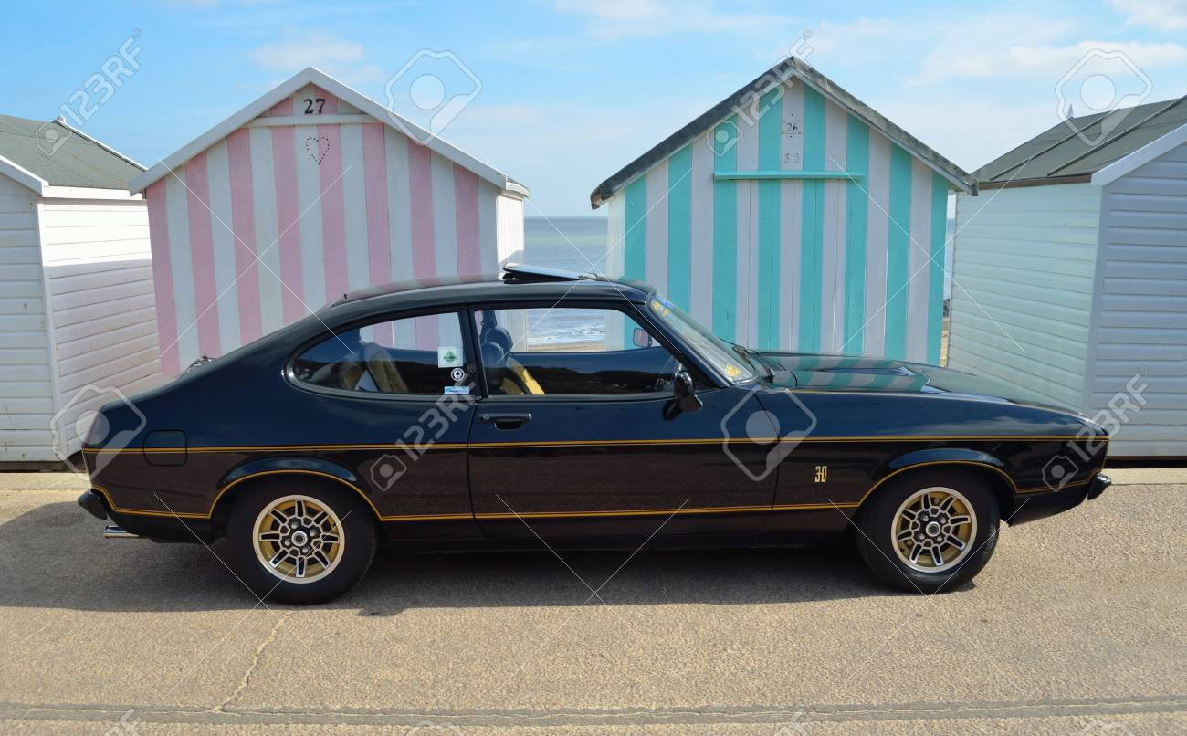 Felixstowe Suffolk England May 07 2017 Classic Black Stock Photo Picture And Royalty Free Image Image 92384931
