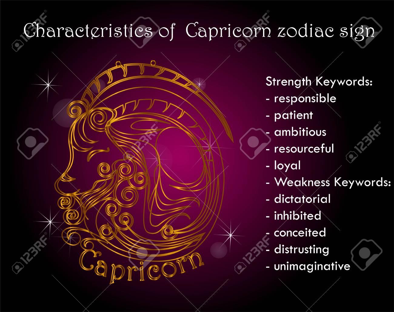 capricorn astrological characteristics