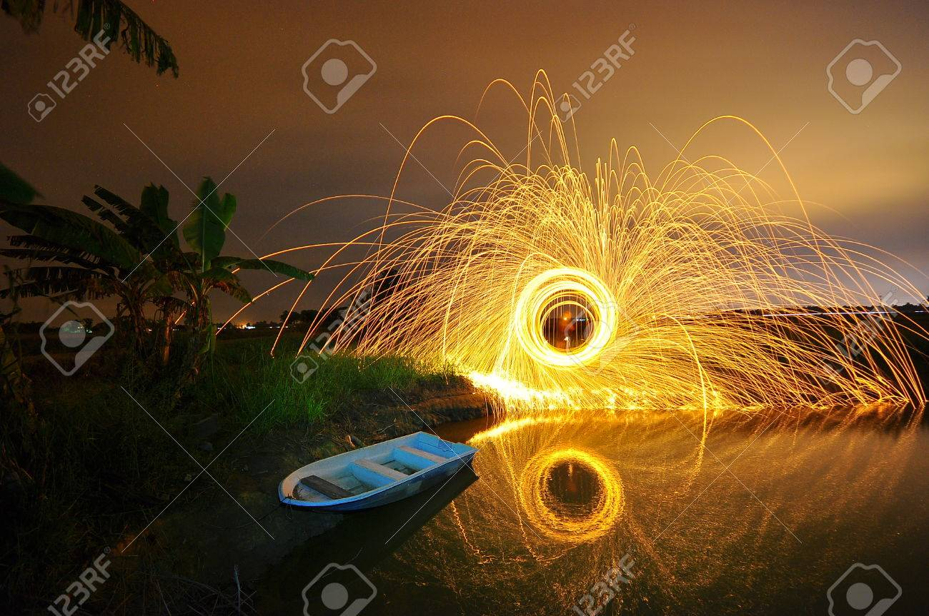 steel wool stock photo awesome reclection Stock Photo - 24319238