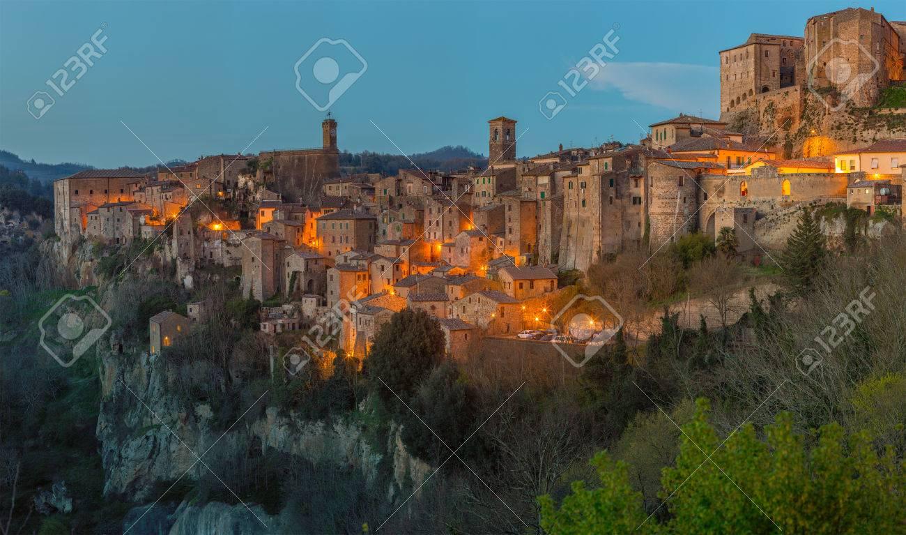 Sorano - Etruscan tuff city, Italy - 57606204