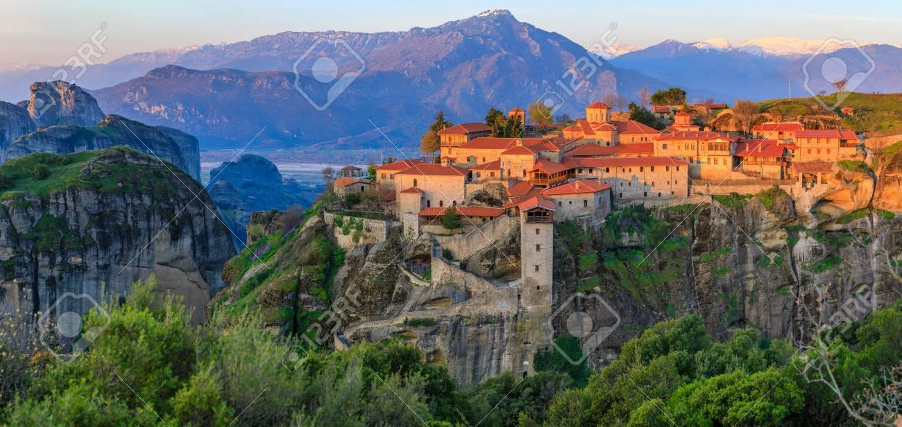 Monasteries of Meteora, Greece - 76819950