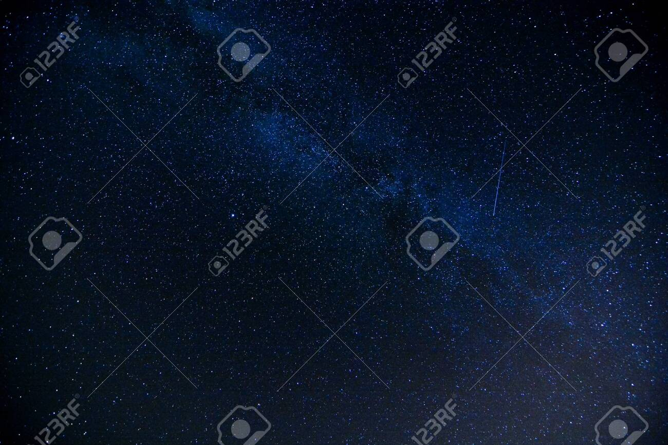 Starry Night Sky with a lot of Stars Background - 131089172
