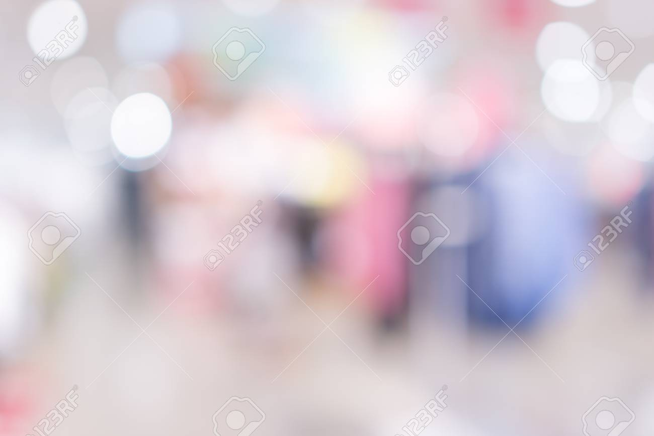 Store, shopping mall abstract defocused blurred background - 92948945