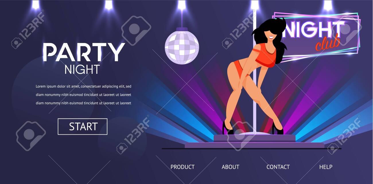 Девочка в стриптиз клубе съемка в ночном клубе без вспышки