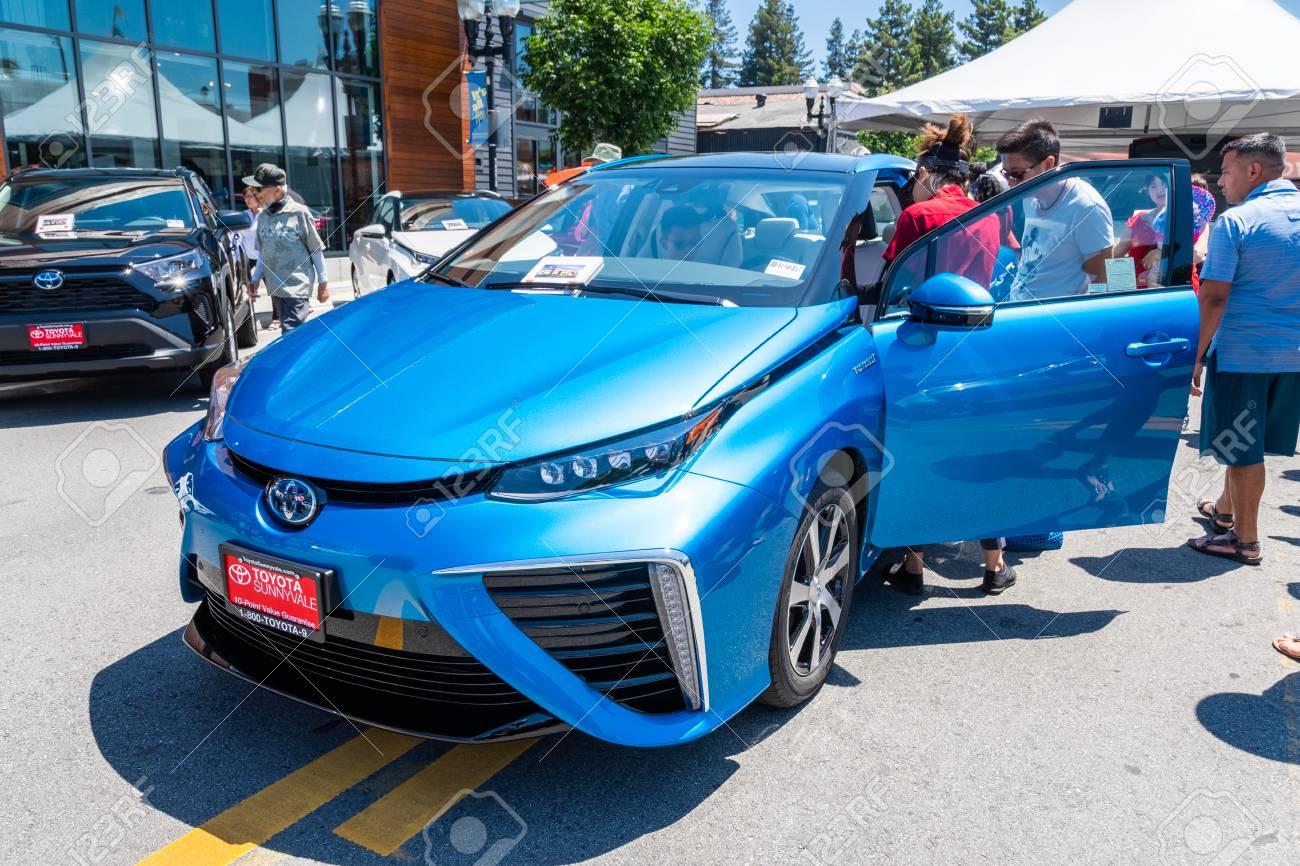 June 2, 2019 Sunnyvale / CA / USA - The Toyota Mirai fuelcell