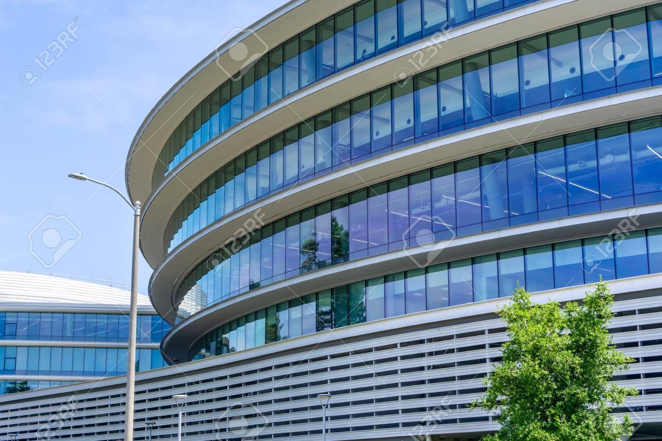 June 13, 2019 Sunnyvale / CA / USA - Modern office buildings