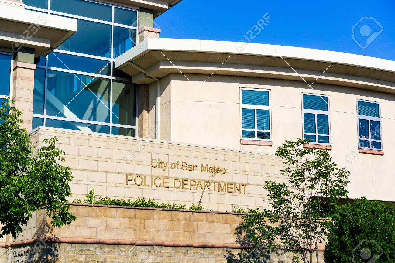 July 4, 2019 San Mateo / CA / USA - City of San Mateo Police