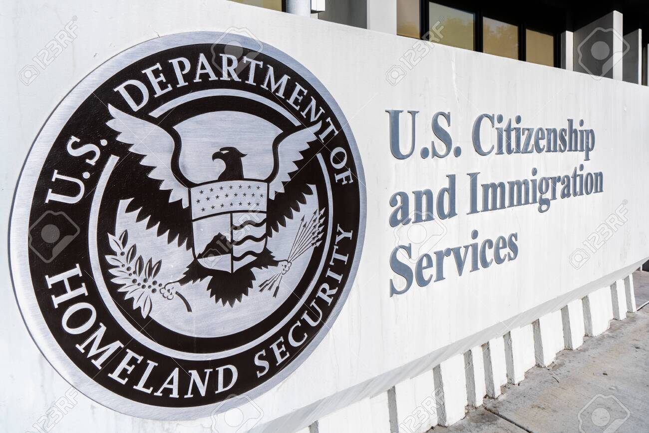 Nov 24, 2019 Santa Clara / CA / USA - U.S. Citizenship and Immigration Services (USCIS) office located in Silicon Valley; USCIS is an agency of the U.S. Department of Homeland Security (DHS) - 135907041