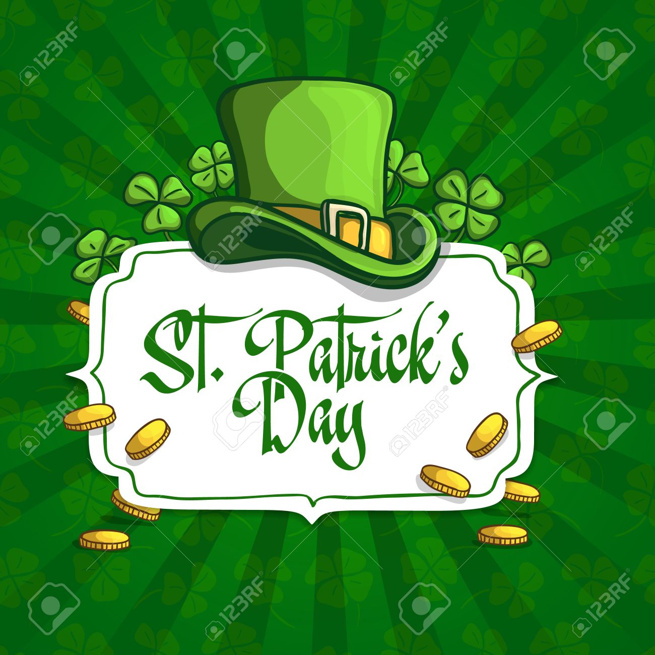 template design banners logos signs posters for st patrick s