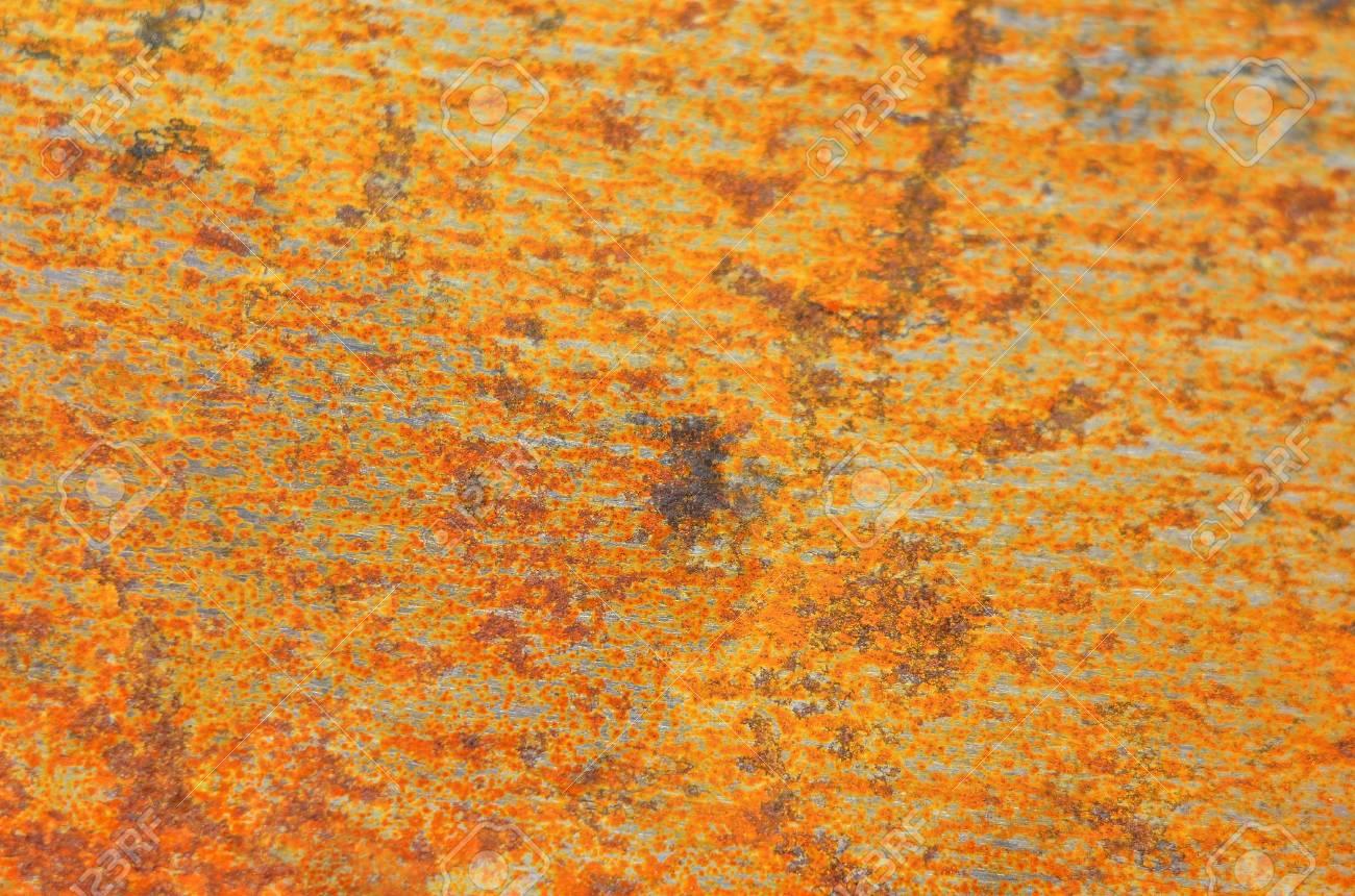 Vintage rusty textured metallic steel background, DOF Stock Photo - 18317742