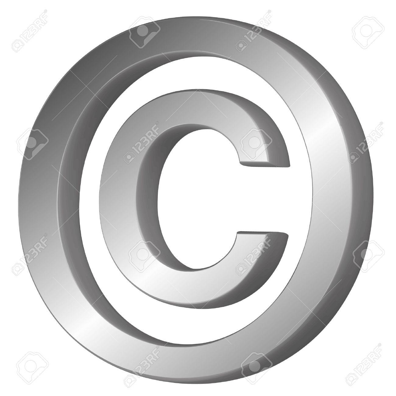 3d vector illustration of the copyright symbol royalty free 3d vector illustration of the copyright symbol stock vector 8176691 biocorpaavc
