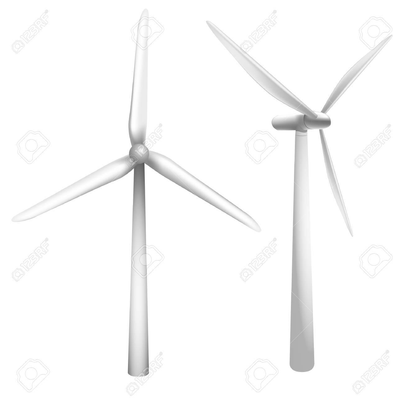 a wind generator Stock Vector - 8329450