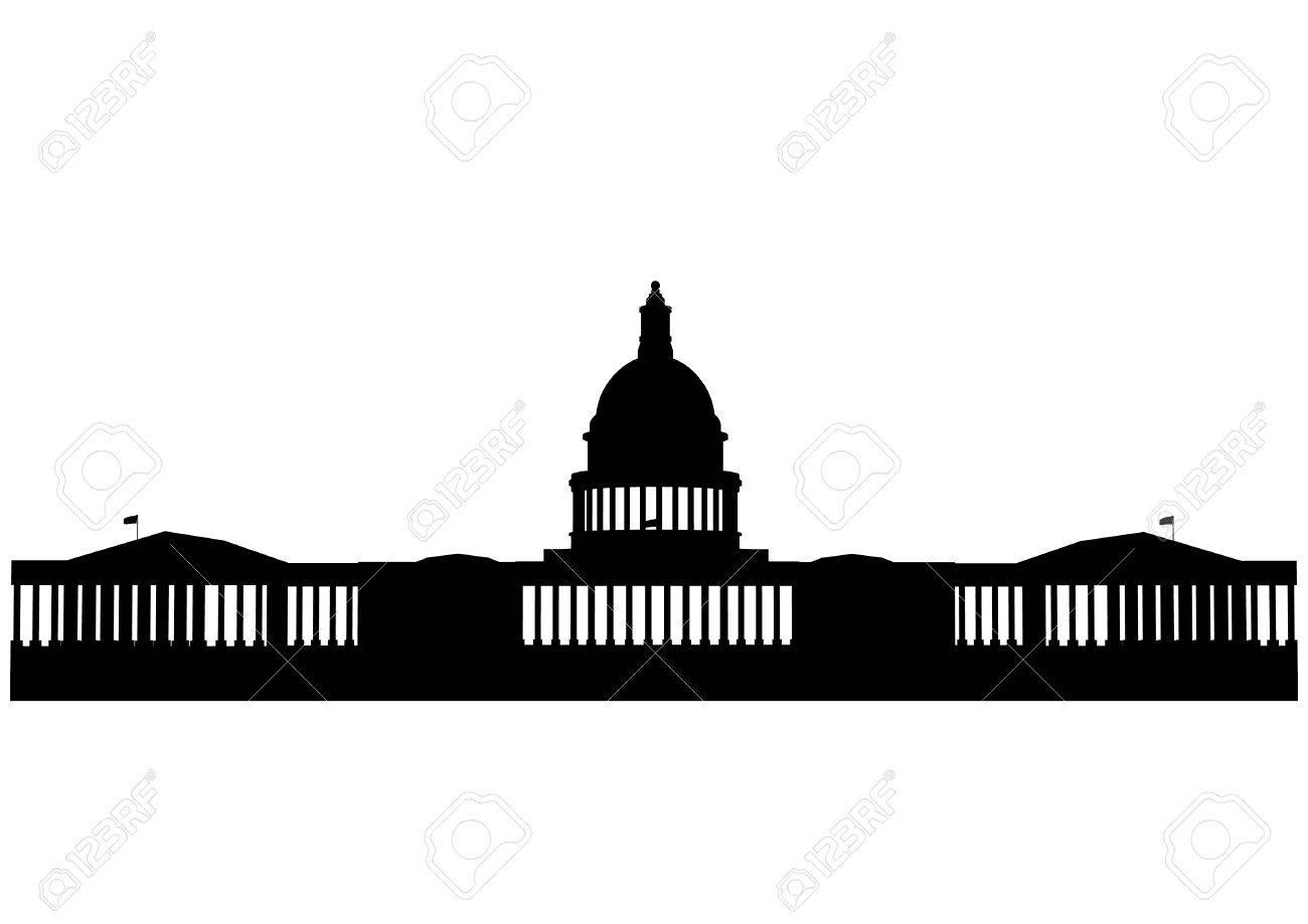 Illustration of the U.S. Capitol, Washington D.C. Stock Vector - 8986599