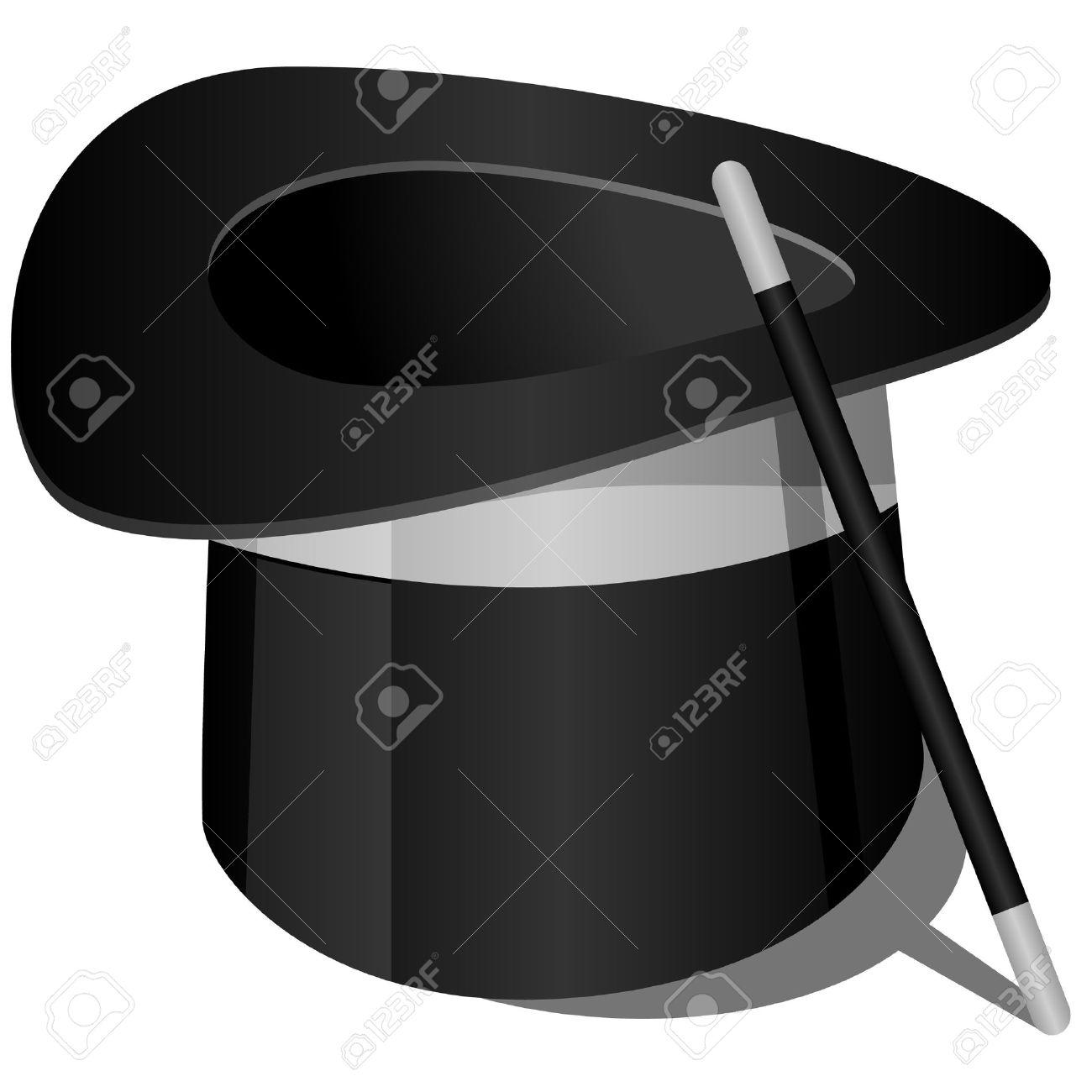 banque dimages illustration de chapeau du magicien