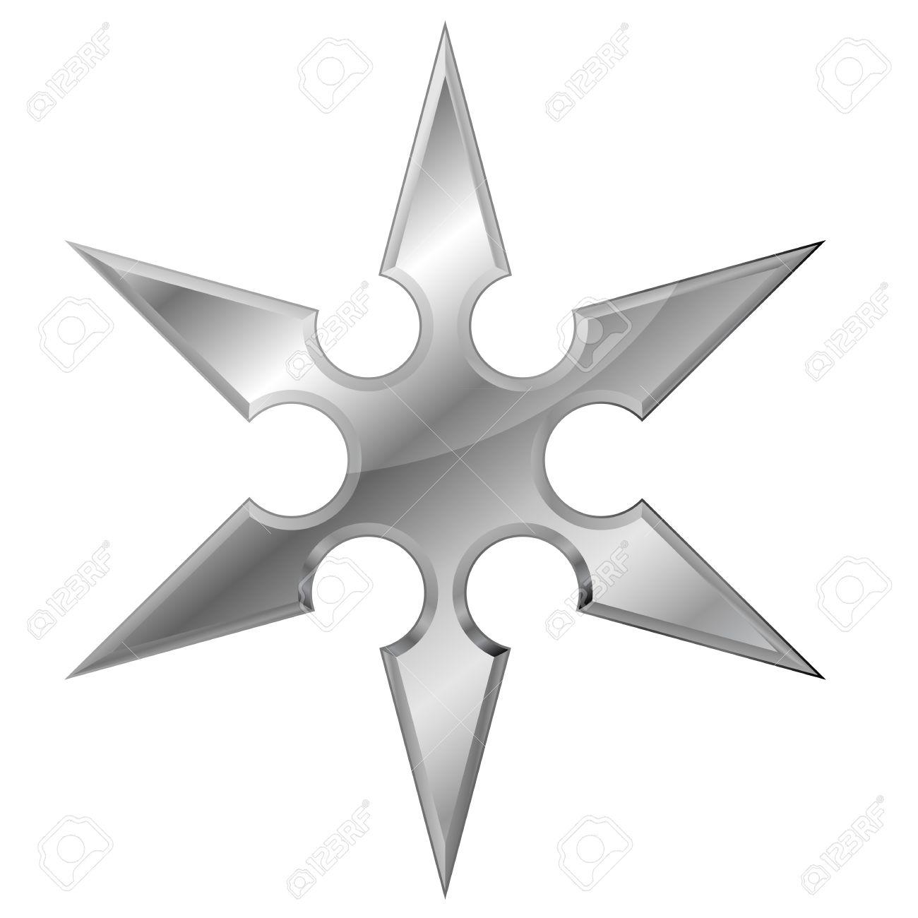 15797157-illustration-of-a-metal-ninja-s