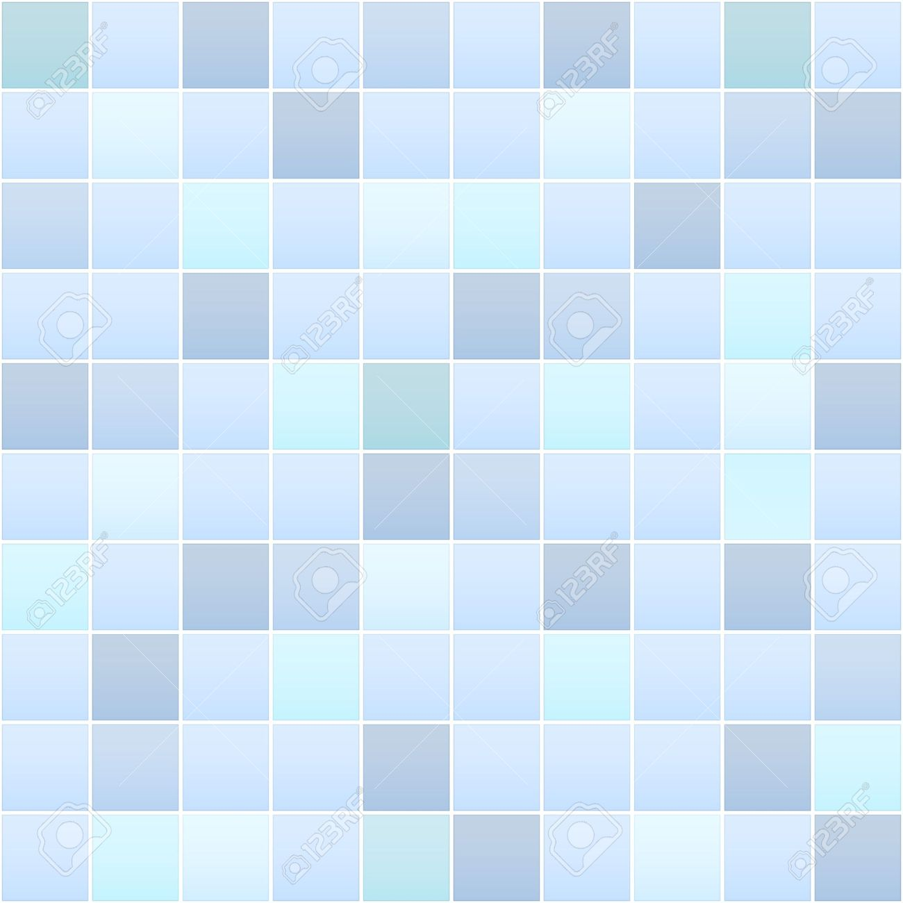 detailed illustration of a bathroom tile pattern - 17754520