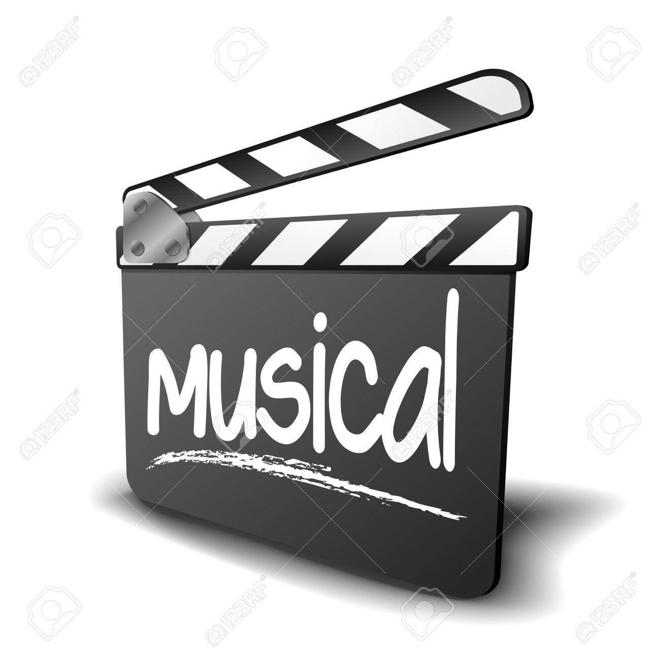 Ilustración Detallada De Una Junta De Azote Con Término Musical ...