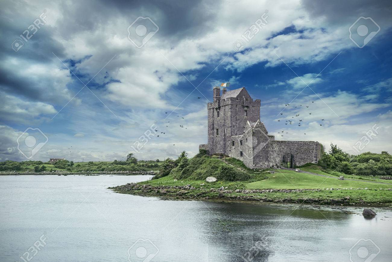 Dunguaire Castle in Co. Galway, Ireland - 44078824
