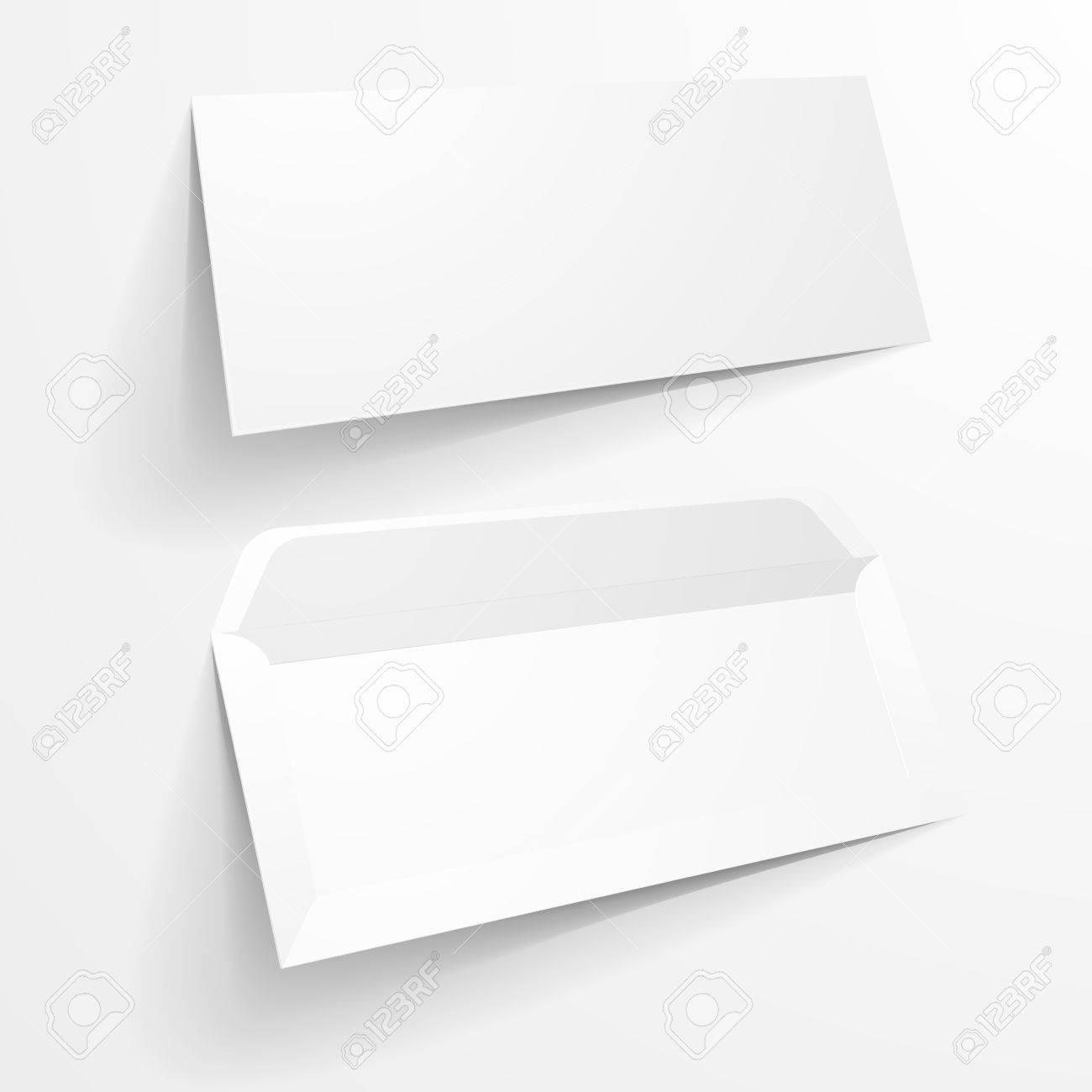 Ilustración Detallada De Un Espacio En Blanco Plantillas Maqueta ...