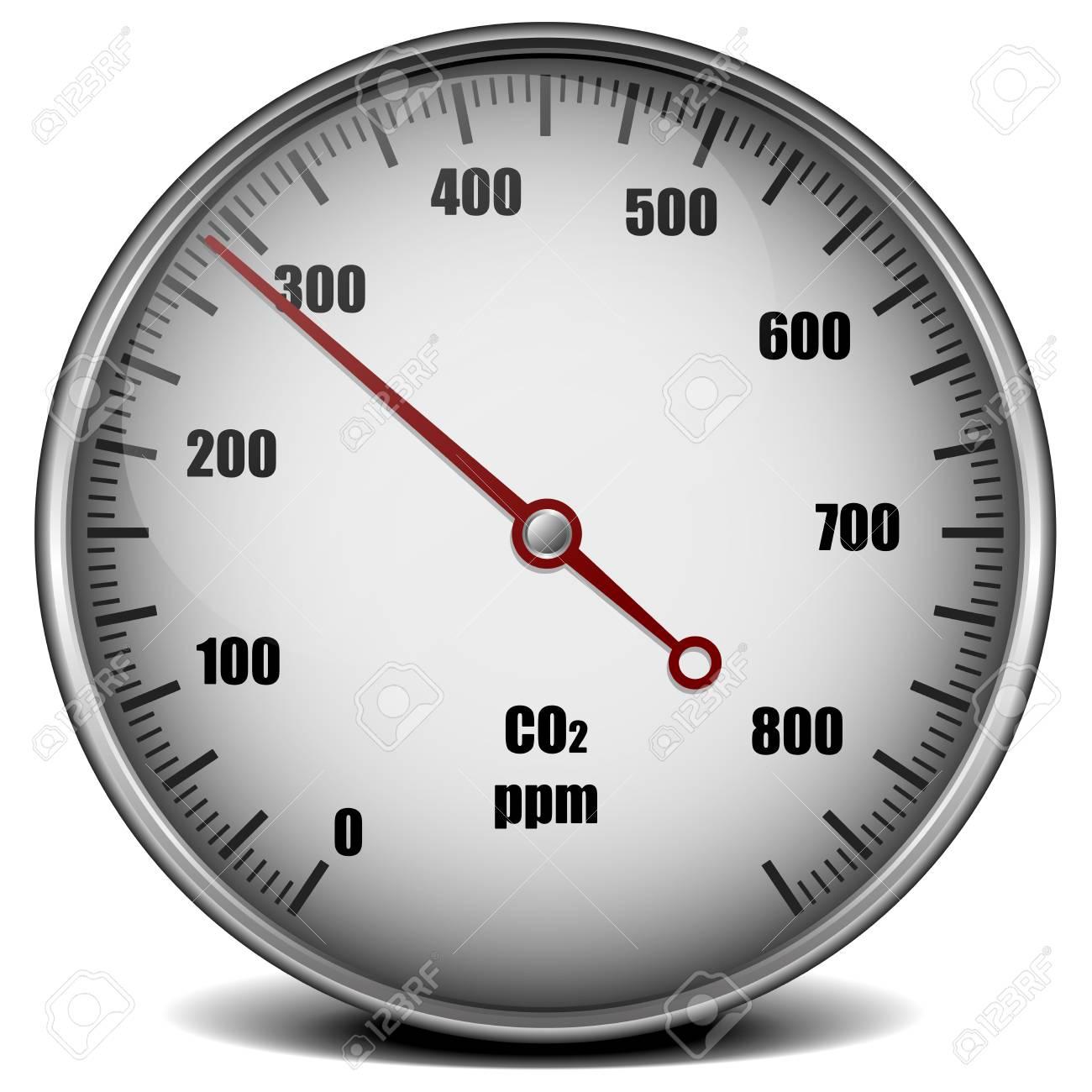 Illustration of a carbon dioxide gauge symbol for low emission illustration of a carbon dioxide gauge symbol for low emission eps10 vector stock vector buycottarizona Images