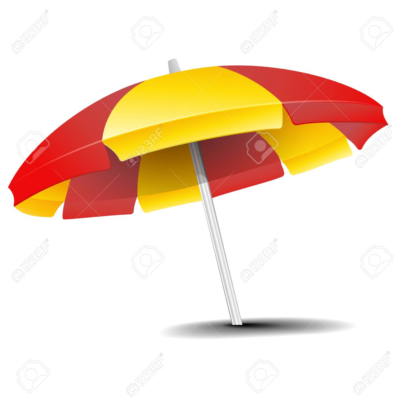 bf6d1d3334 detailed illustration of a beach umbrella isolated on white