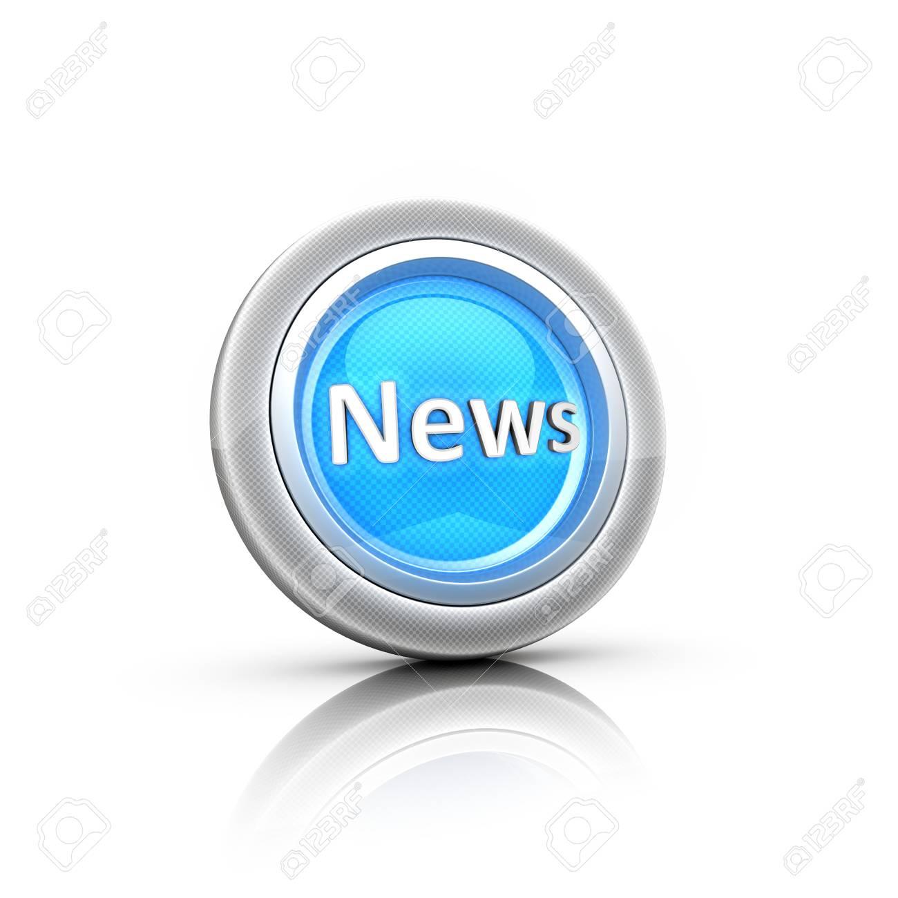 News Button Stock Photo - 18481371