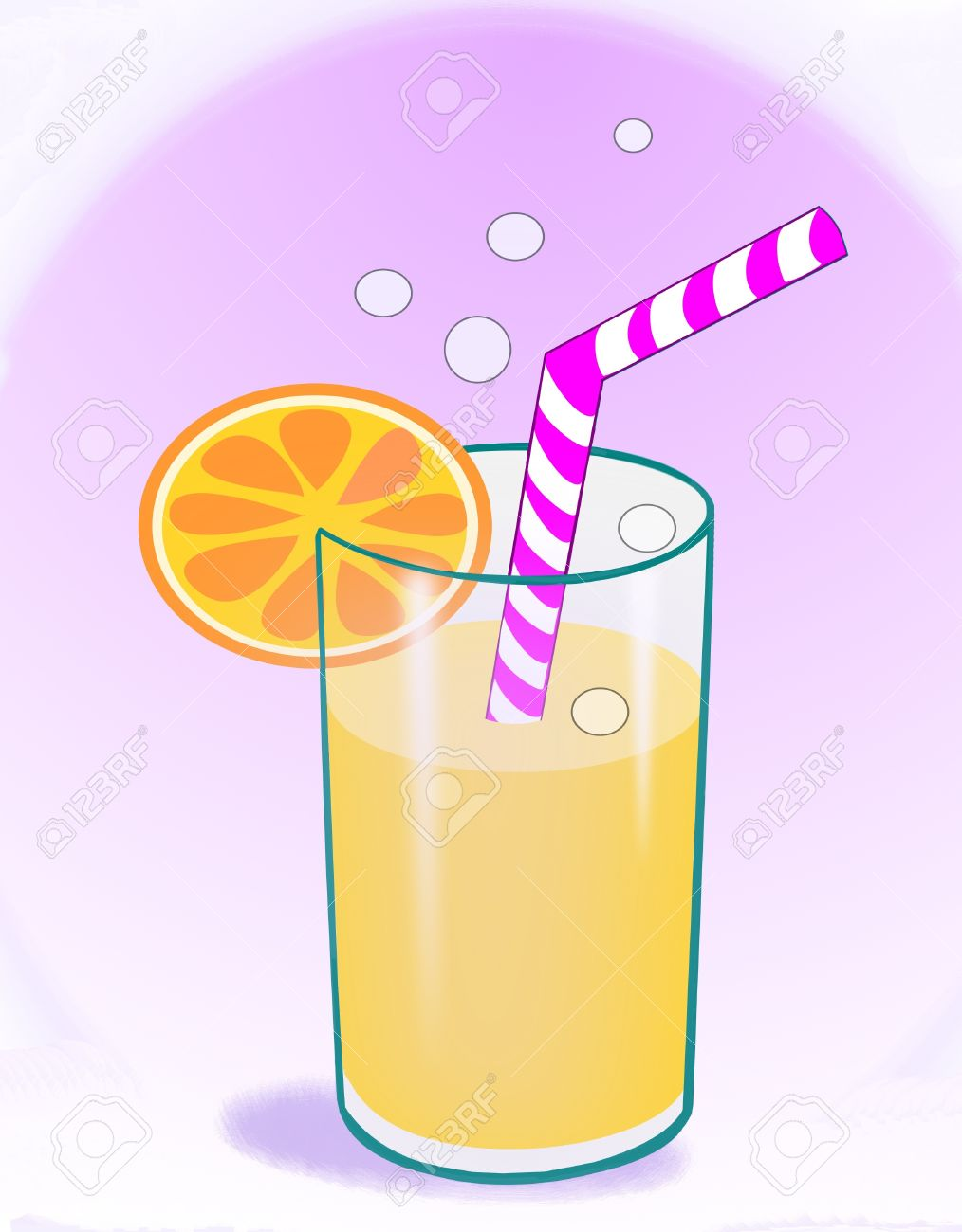 Orange Slice Soda